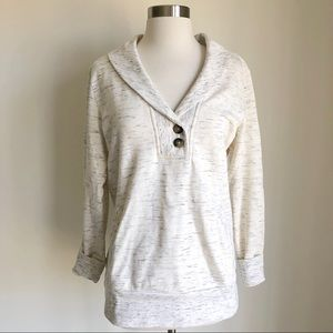 Banana Republic, Cowl Neck Sweatshirt, L